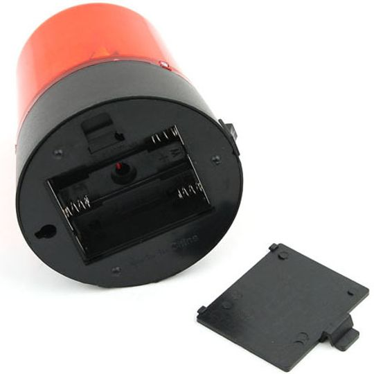 USB Мигалка Police light Отсек для батареек