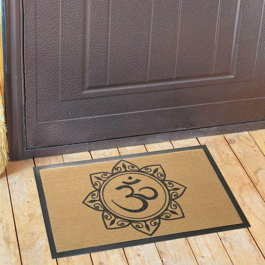Коврик для входной двери Аум