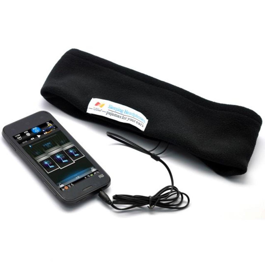 Маска для сна с наушниками Sleeping Headphones