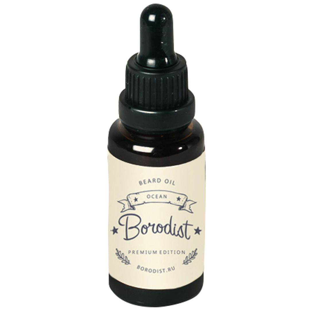 Масло для бороды Borodist Beard Oil Ocean