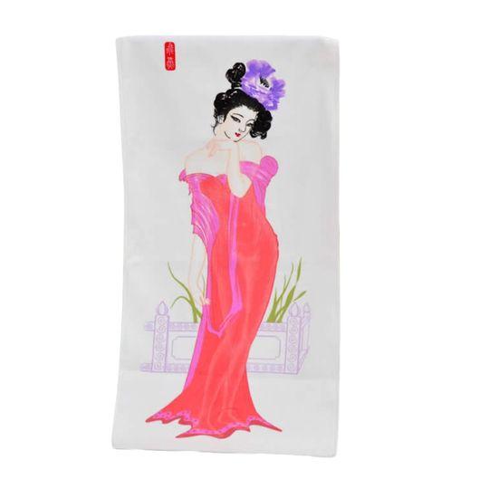 Полотенце, меняющее рисунок Девушка (Девушка в вечернем платье)