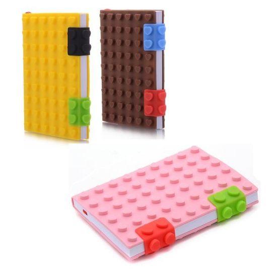 Блокнот Лего Маленький, цвета ассорти