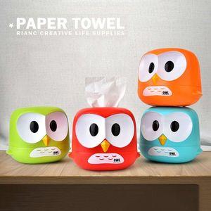 Держатель туалетной бумаги и салфеток Сова