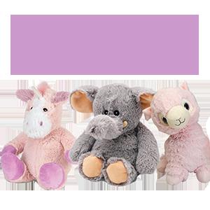 Игрушки Warmies: милые грелки