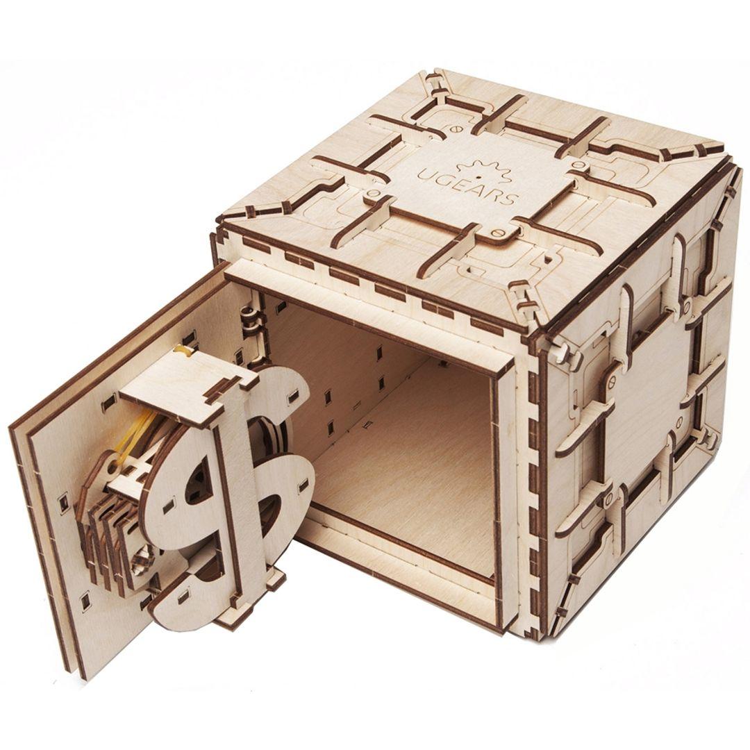 Механический 3D Пазл Ugears Сейф С кодовым замком