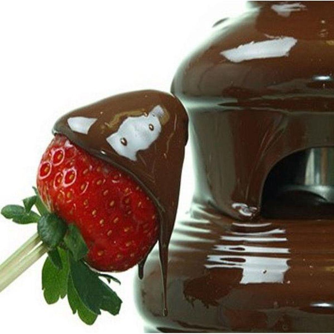 Шоколадный фонтан Small Растопленный шоколад