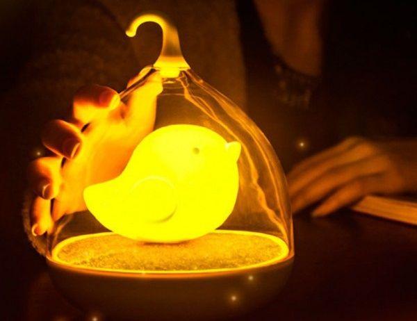 USB Лампа Птичка