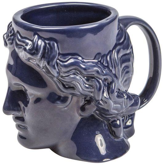 Кружка Голова Аполлона Hestia (Синий)