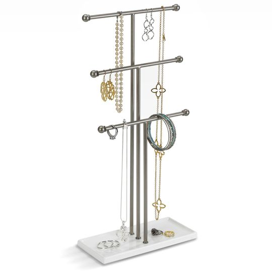 Подставка для украшений Trigem (Никель) С украшениями