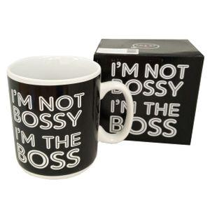 Гигантская кружка I'm Not Bossy