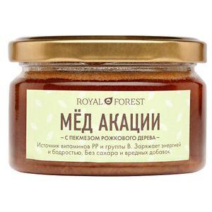 Мёд акации с пекмезом рожкового дерева (250 г)