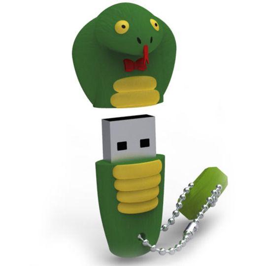 Флешка Змея 8 Гб Открытая