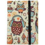 Обложка для паспорта Acid Owls