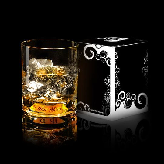 Светящийся бокал GlasShine Whisky