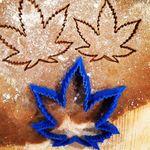 Форма для печенья Каннабис