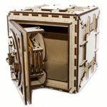 Механический 3D Пазл Ugears Сейф Код замка устанавливаете вы
