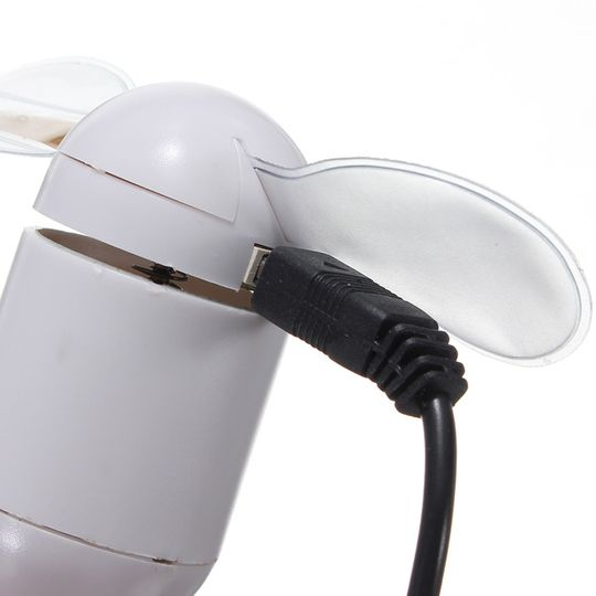 USB Вентилятор с программируемым текстом