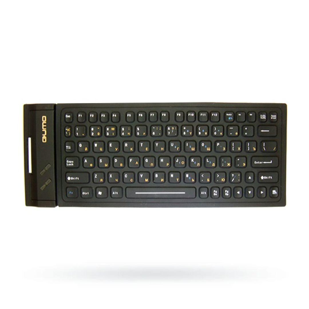 Гибкая резиновая клавиатура Черная