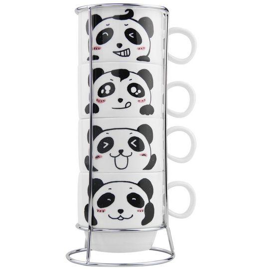 Набор чашек Панды