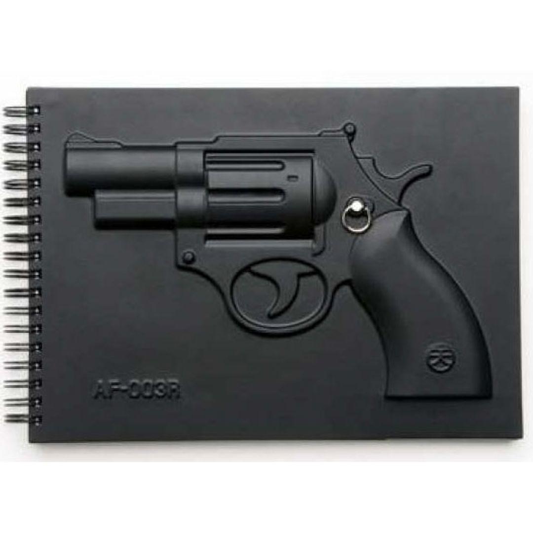 Блокнот Пистолет