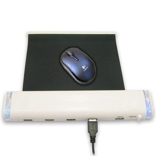USB Хаб Коврик для мыши