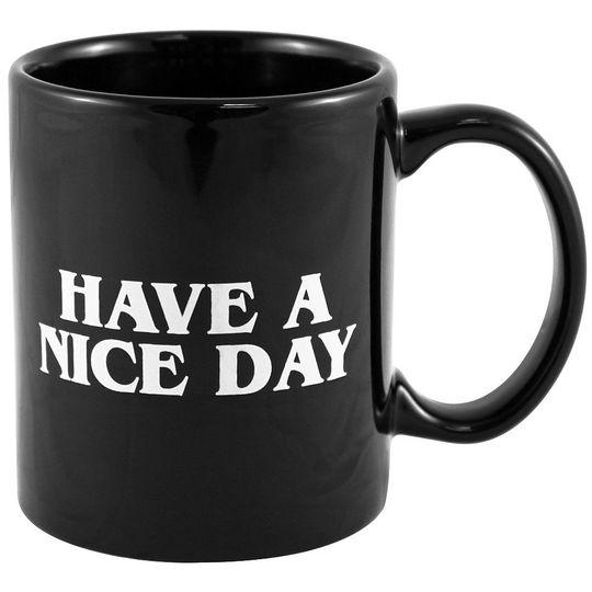 Кружка Have a nice day (Черный)