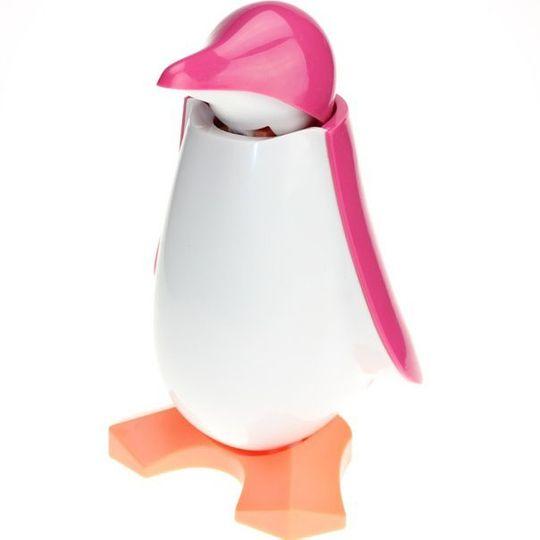 Копилка Пингвин (Розовый)
