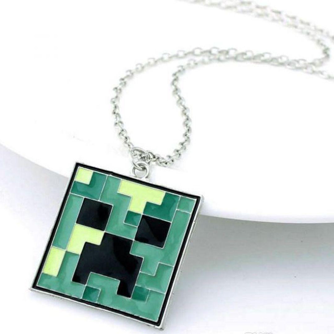 Брелок Крипер Minecraft Цепочка в комплекте другой формы, брелочная