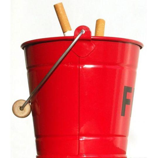 Пепельница Пожарное ведро Fire Bucket Ash Tray