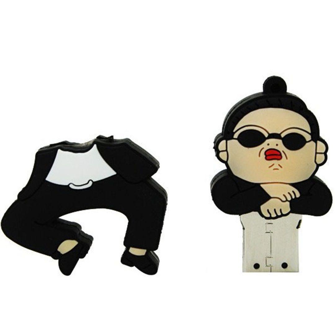 Флешка PSY Gangnam style в полуприседе