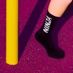Носки спортивные Ниндзя (20 см)