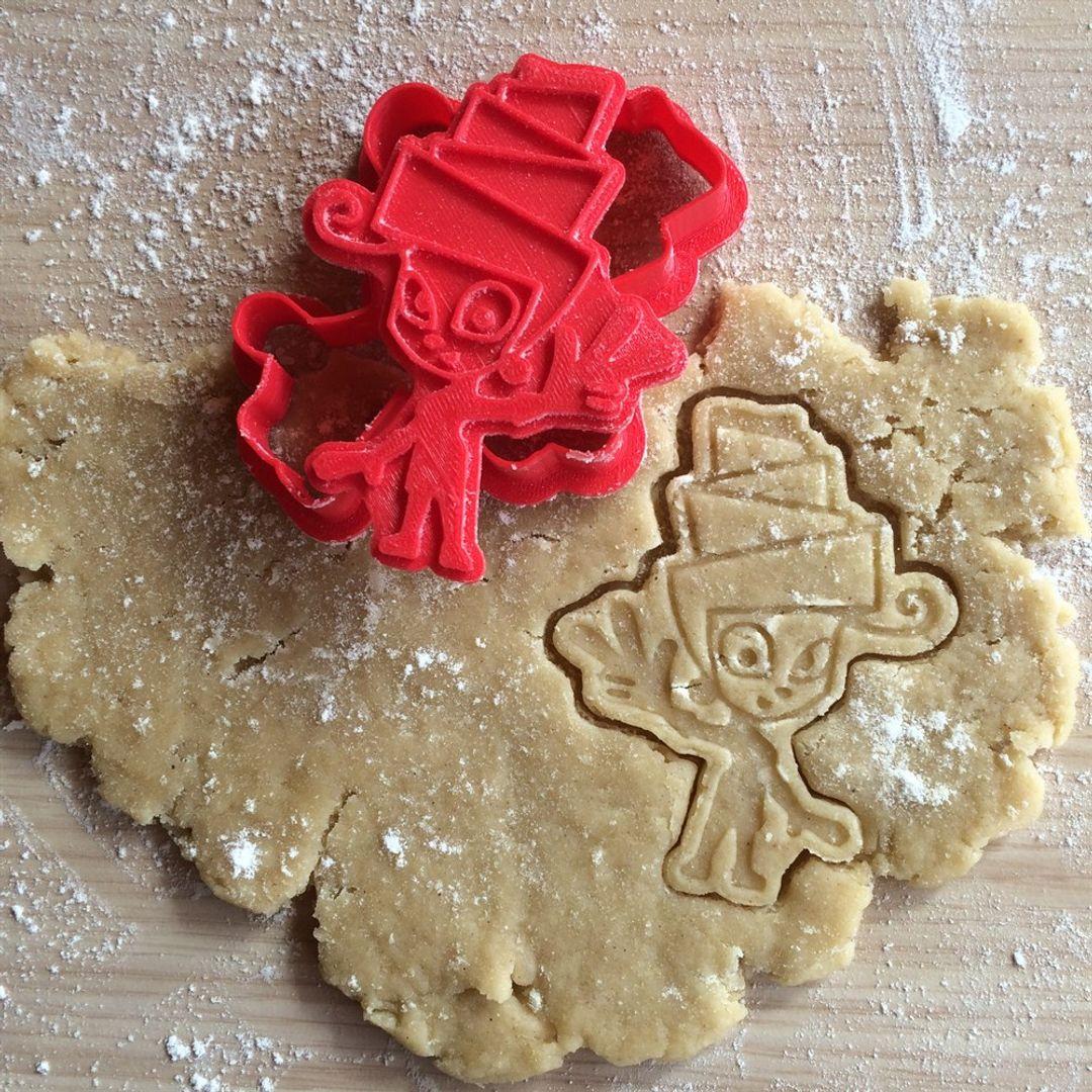Форма для печенья Фиксики Мася