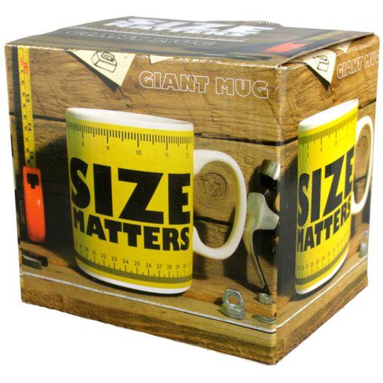 Гигантская кружка Size Matters Упаковка