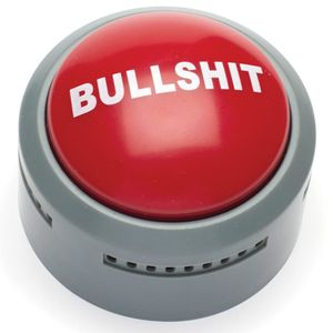 Аварийная говорящая кнопка Bullshit
