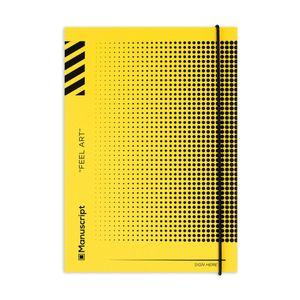 Скетчбук Off-yellow Dot (A5 Plus)