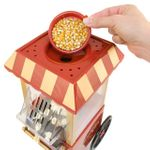 Домашний Аппарат для приготовления Попкорна Ретро Куда засыпать зерно