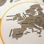 Скретч-карта мира True Map Plus Silver Отзыв