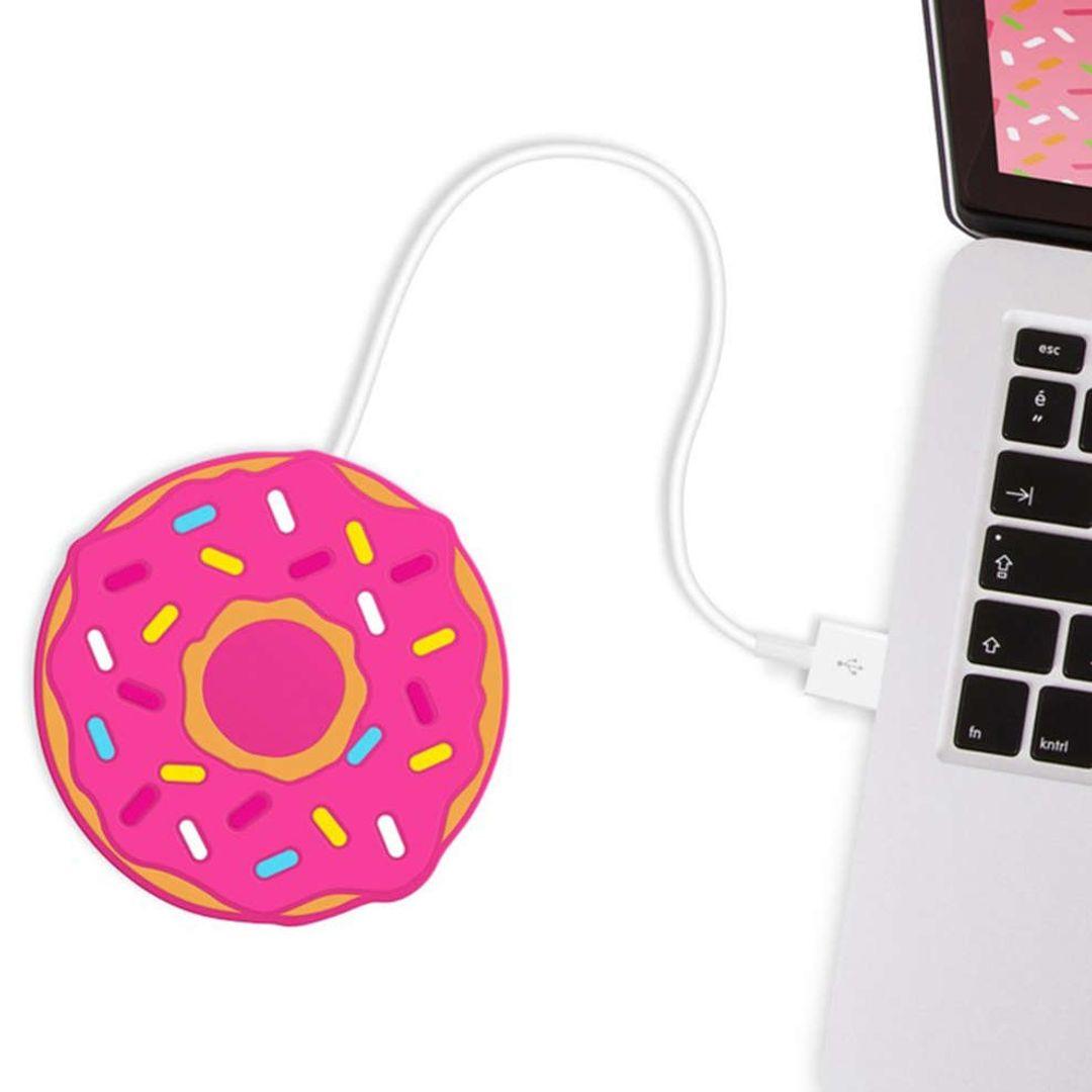 USB Подогреватель для чашки Пончик Freshly Baked Donut