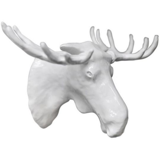 Вешалка Лось Moose (Белый)