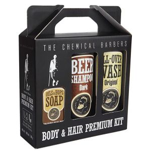 Подарочный набор The Chemical Barbers Beer Shampoo Gift Set Premium