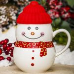 Кружка Снеговик