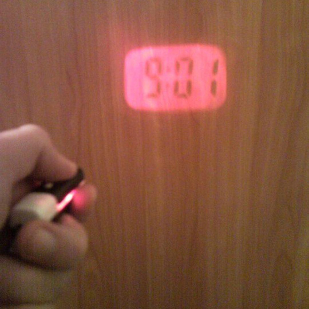 Брелок Проектор времени