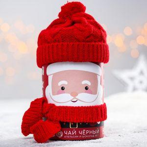 Чай черный Дед Мороз (апельсин и шоколад, 50 г)