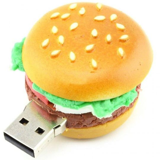 Флешка Гамбургер 8 Гб