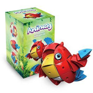 Магнитный конструктор Animag Попугай