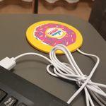 USB Подогреватель для чашки Пончик Отзыв