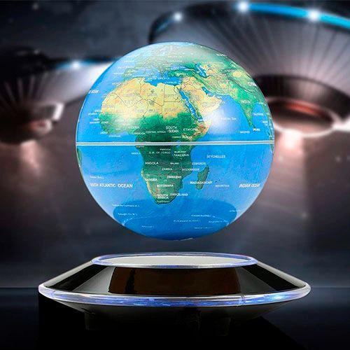 Большой левитирующий<br>глобус с подсветкой