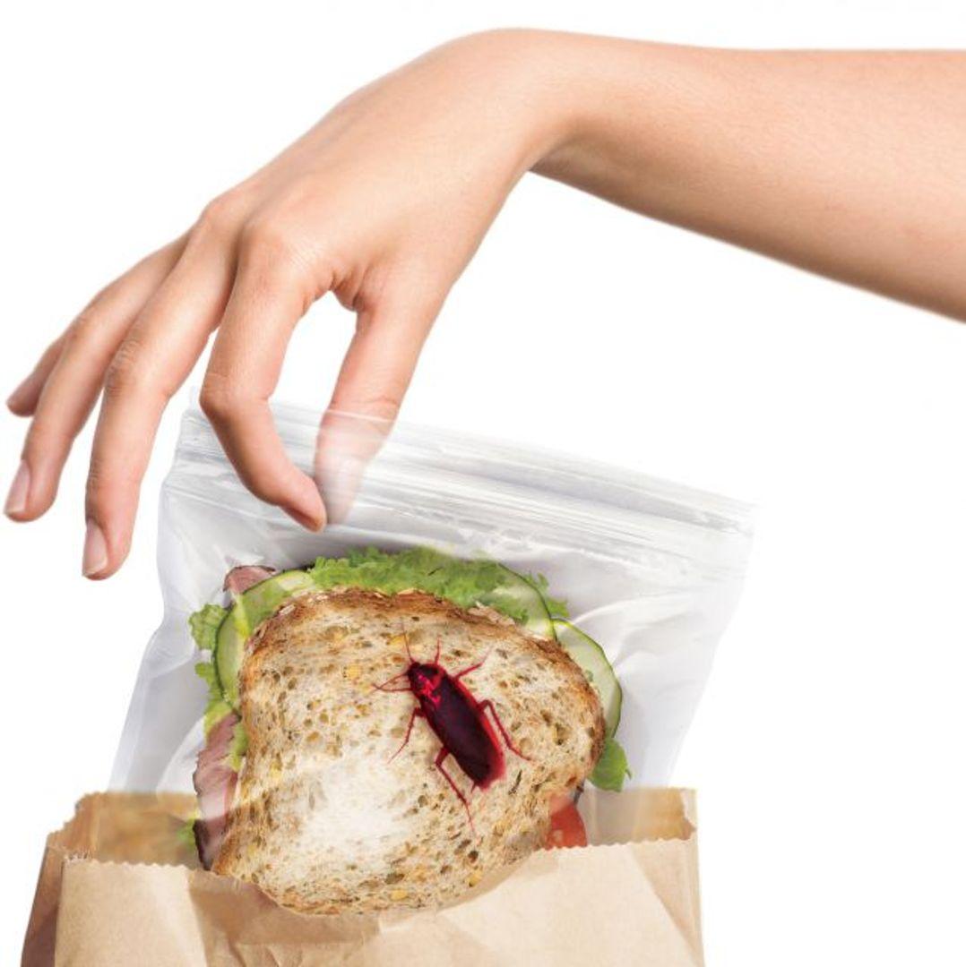 Пакеты для бутербродов с тараканом Lunch Bugs