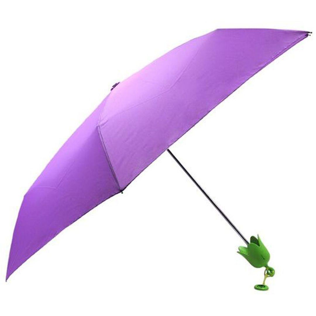 Зонт Баклажан Eggplant Umbrella Открытый