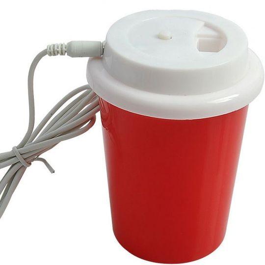 USB Увлажнитель воздуха Стакан с кофе (Красный)
